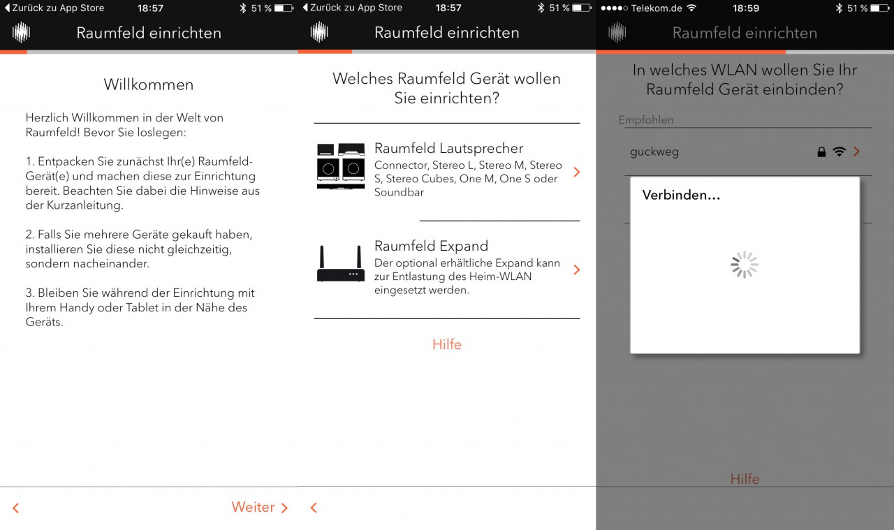 Raumfeld_App_Einrichtung