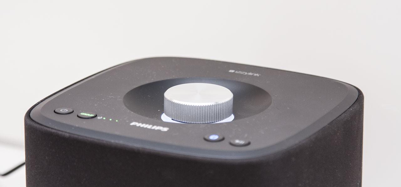 Bequemes Drehrad zur Lautstärkeregulierung