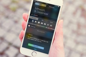 Sonos mit gesperrtem iPhone bedienen