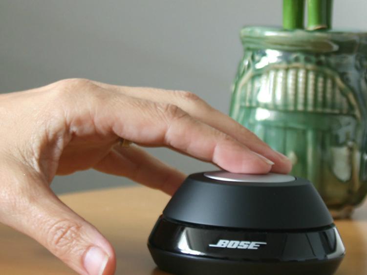Inuitive Bedienung mit dem Control Pod. Quelle: Bose