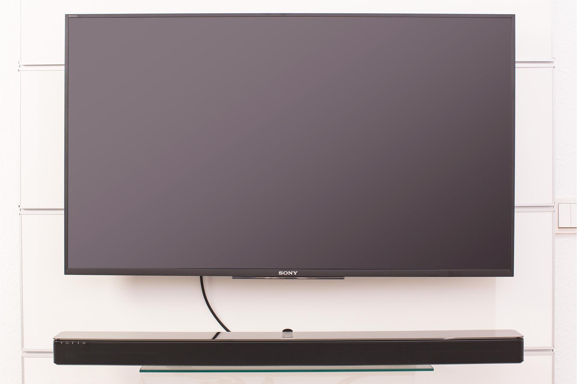 Testbericht Bose Soundtouch 300 Kabellose Soundbar With Acoustimass Plus Virtually Invisible Ein Hdmi Kabel Verbindet Die Mit Dem Tv