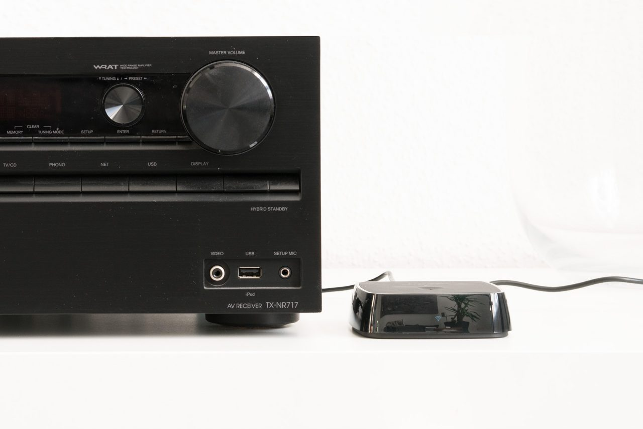 Traditioneller AV-Receiver bekommt Bluetooth und Wifi-Upgrade dank Bose SoundTouch Wireless Link