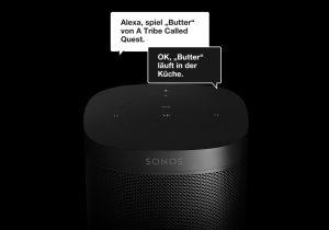 Airplay 2 und Sprachsteuerung mit Sonos One – erster Smart Speaker von Sonos